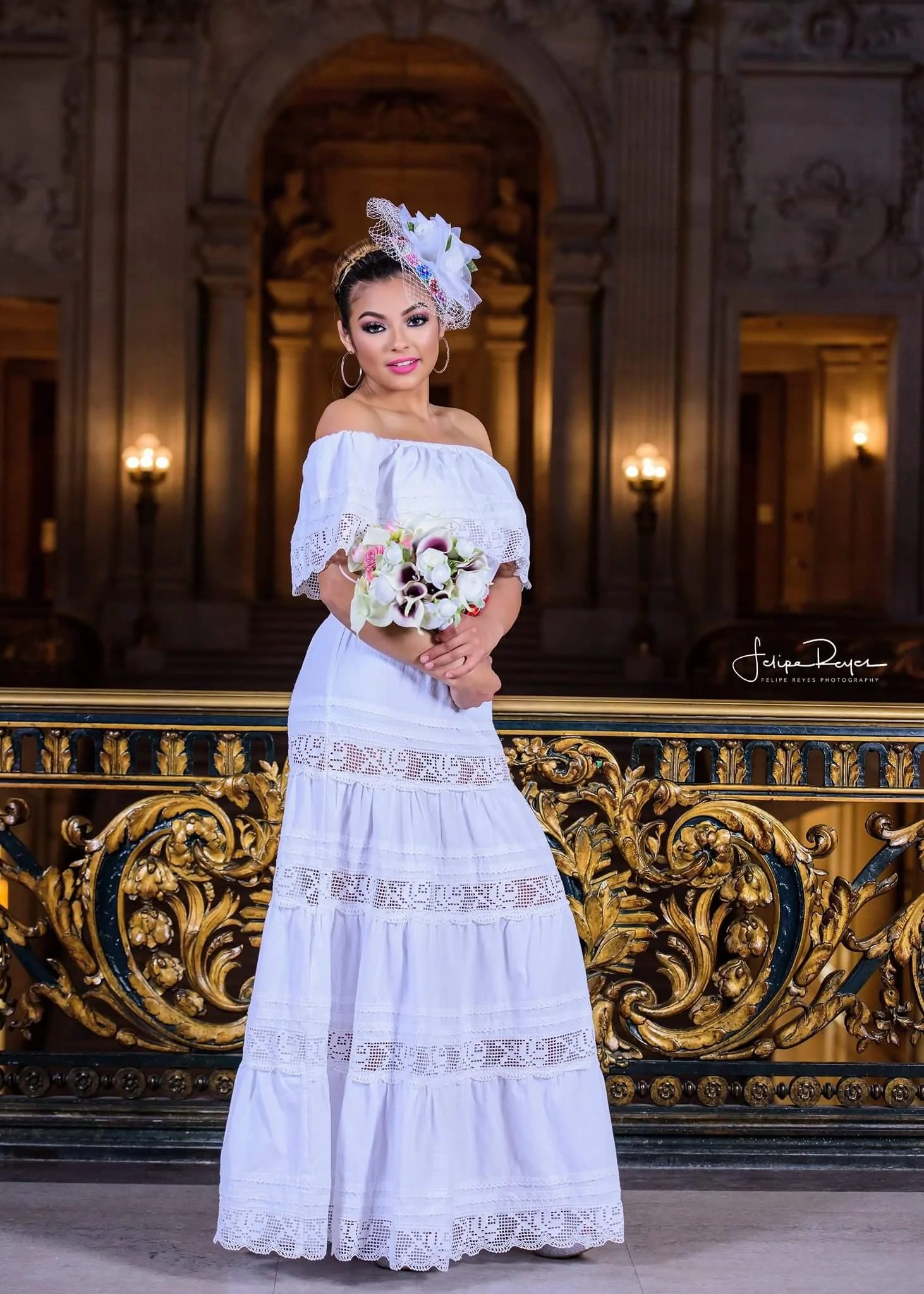 mexican wedding dress page 2 mexican wedding dress White Off Shoulders Mexican Wedding Dress