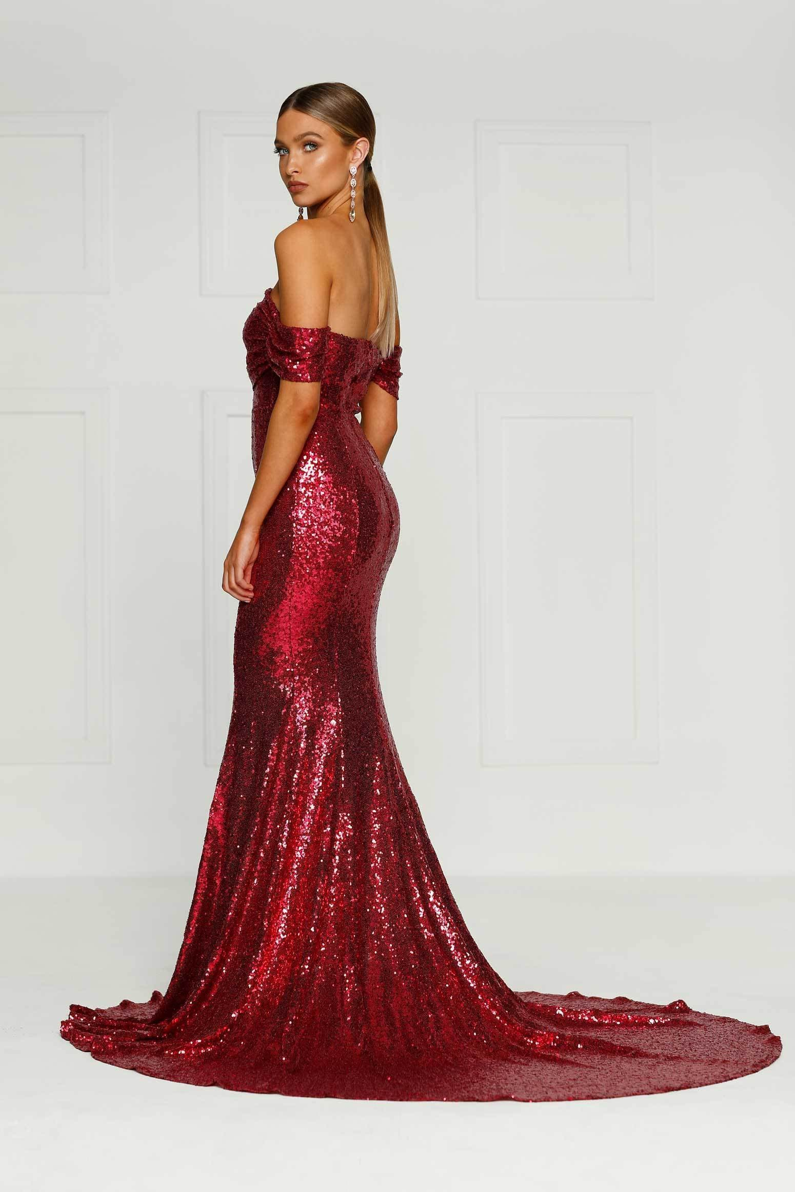 Fullsize Of Red Sequin Dress