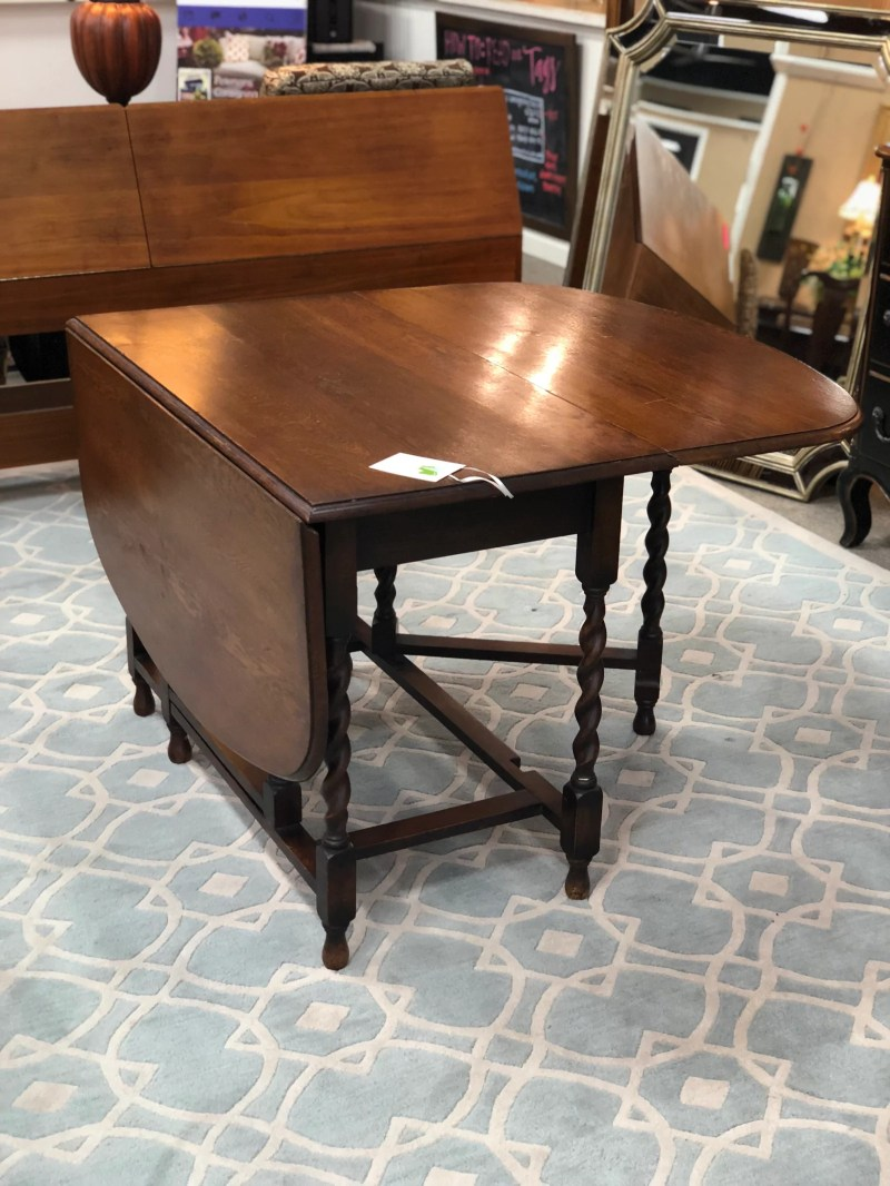 Large Of Antique Drop Leaf Table