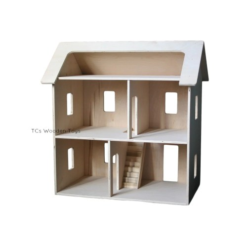 Medium Crop Of Wooden Doll House