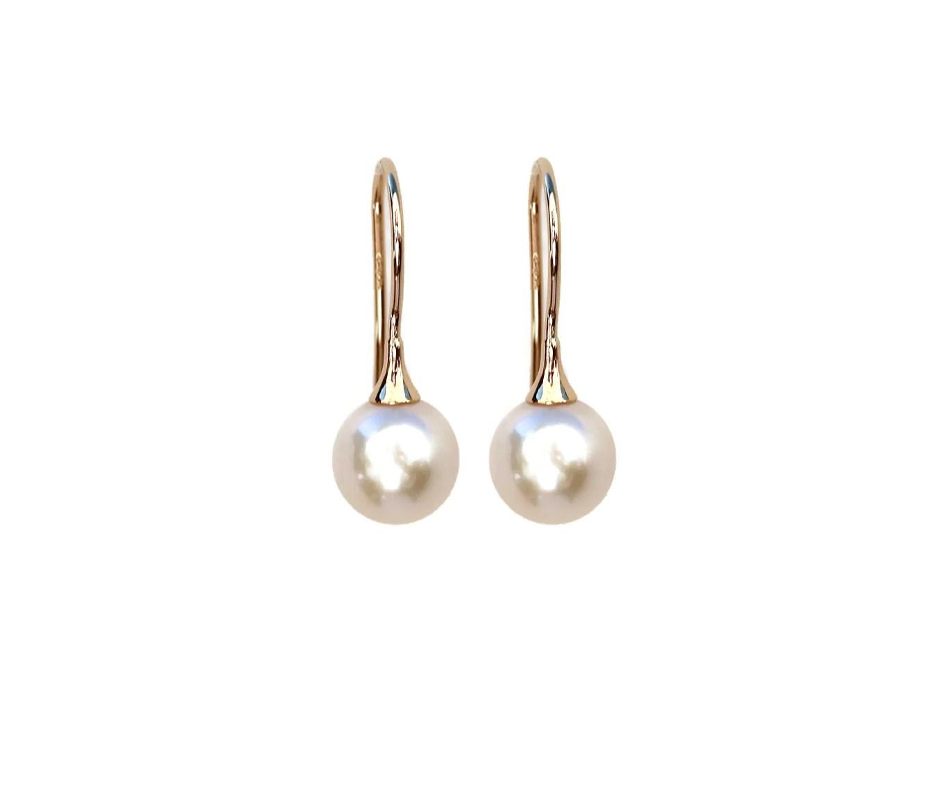 Adorable Stella Pearl Drop Earrings Stella Pearl Drop Earrings Pearl Drop Earrings Bridal Pearl Drop Earrings Silver wedding rings Pearl Drop Earrings