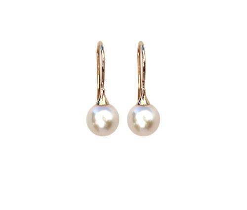 Medium Of Pearl Drop Earrings