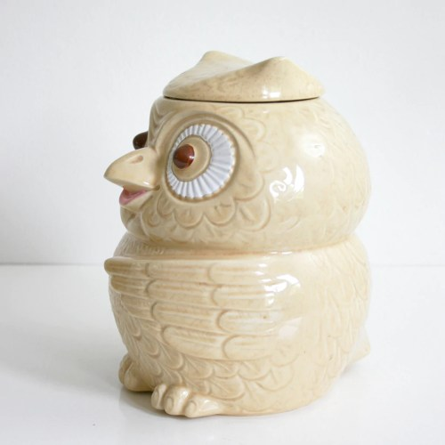 Medium Of Owl Cookie Jar