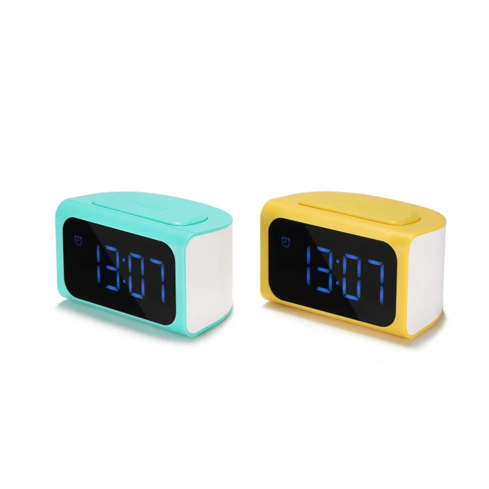 Thrifty Led Alarm Digital Clock Timer Mobile Phone Adapter Remax Official Store Led Alarm Digital Clock Timer Mobile Digital Alarm Clocks Digital Table Clock furniture Fancy Digital Clock