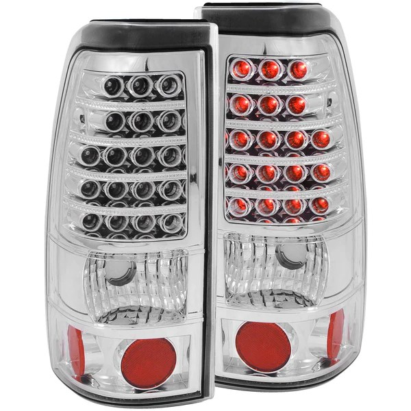 GMC Tagged  ANZO USA Tail Light Assembly    ProParts USA ANZO USA Tail Light Assembly for 2007 2007 GMC Sierra 2500 HD Classic  Fleetside