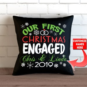 High Mrs Card Personalized Our Engaged Throw Pillow Cover Personalized Our Engaged Throw Pillow Cover X Our Toger Card Our As Mr