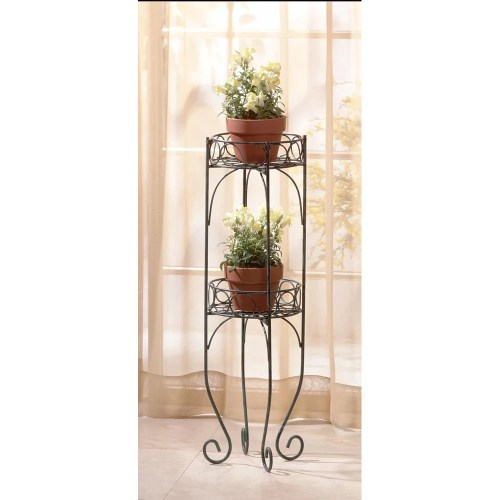 Medium Of Wrought Iron Plant Stands