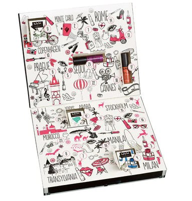 NYX makeup advent calendar | Shopify Retail blog