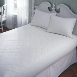 Small Of Cotton Mattress Pad