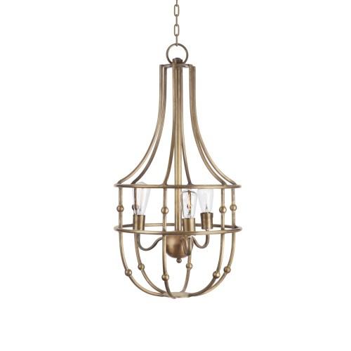 Medium Of Brass Pendant Light