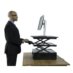 Cool Desk Conversion Describes Any Kit That You Would Attach Or Place A Standing Desks Dynamicstandingdesks Adesk Or Y Are Typically Adjustable To Fit A Variety Body Types