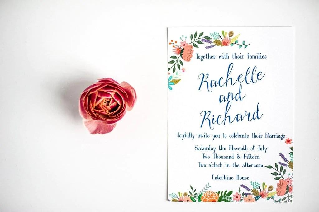 Garden Party Wedding Invitation, HD Digital - Com Bossa ...