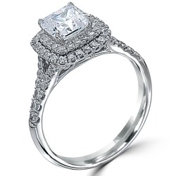 Aweinspiring Point Love Square Cut Carat Diamond Halo Platinumengagement Point Love Square Cut Carat Diamond Halo 2 Carat Diamond Ring Price 2 Carat Diamond Ring Cost