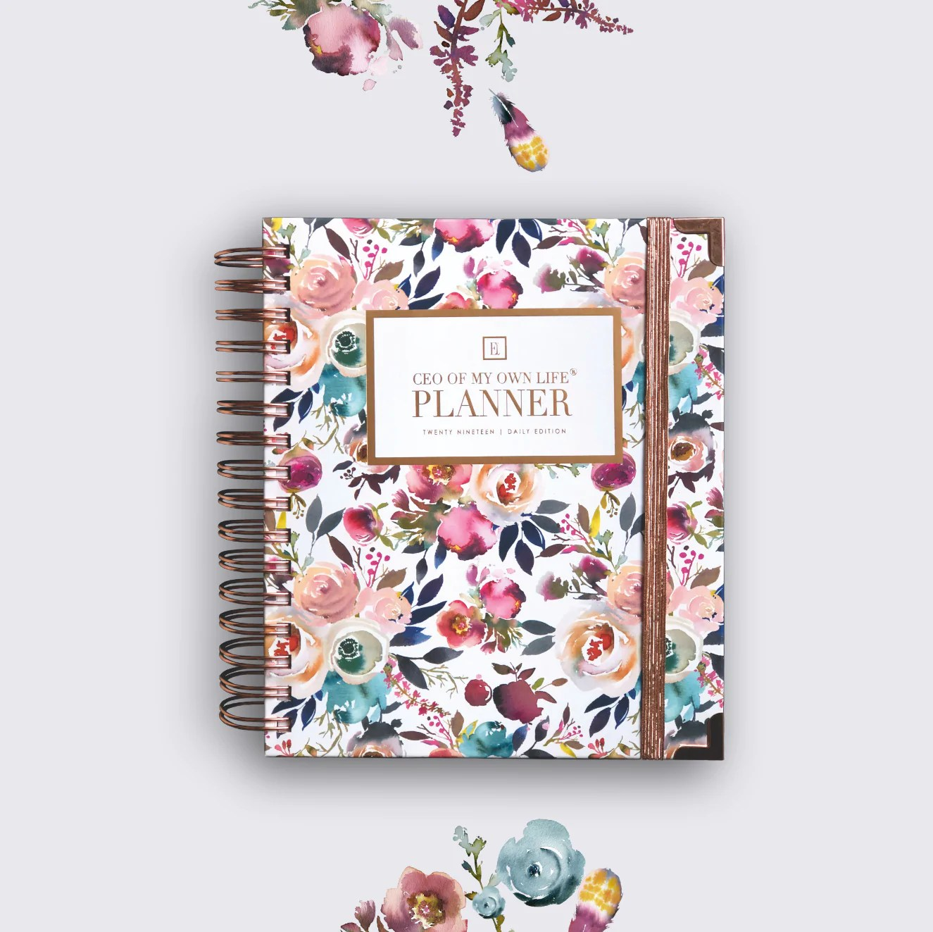 2019 Daily | CEO OF MY OWN LIFE® Planner | Blossom – Ella ...