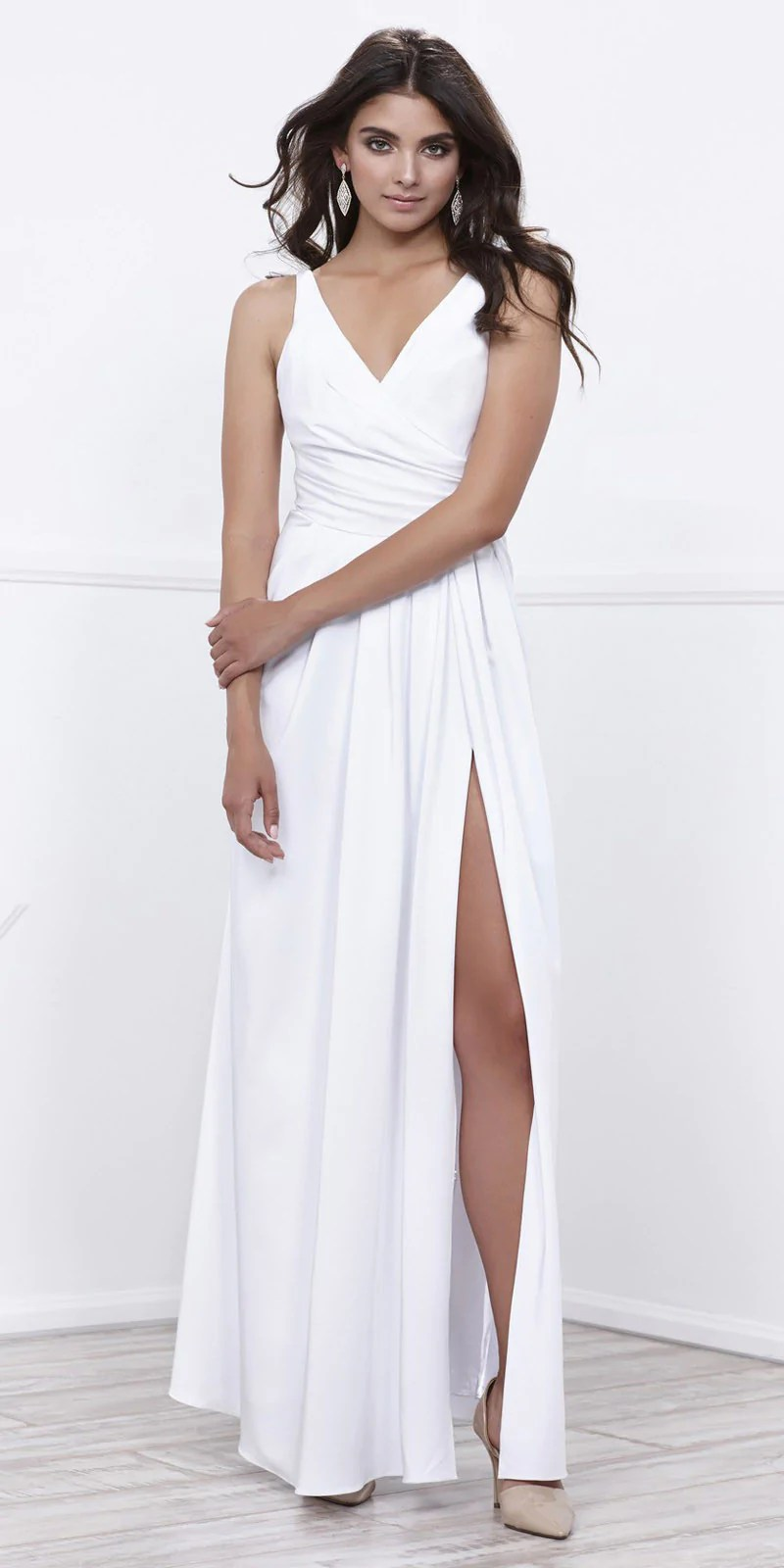 Large Of White Evening Dresses