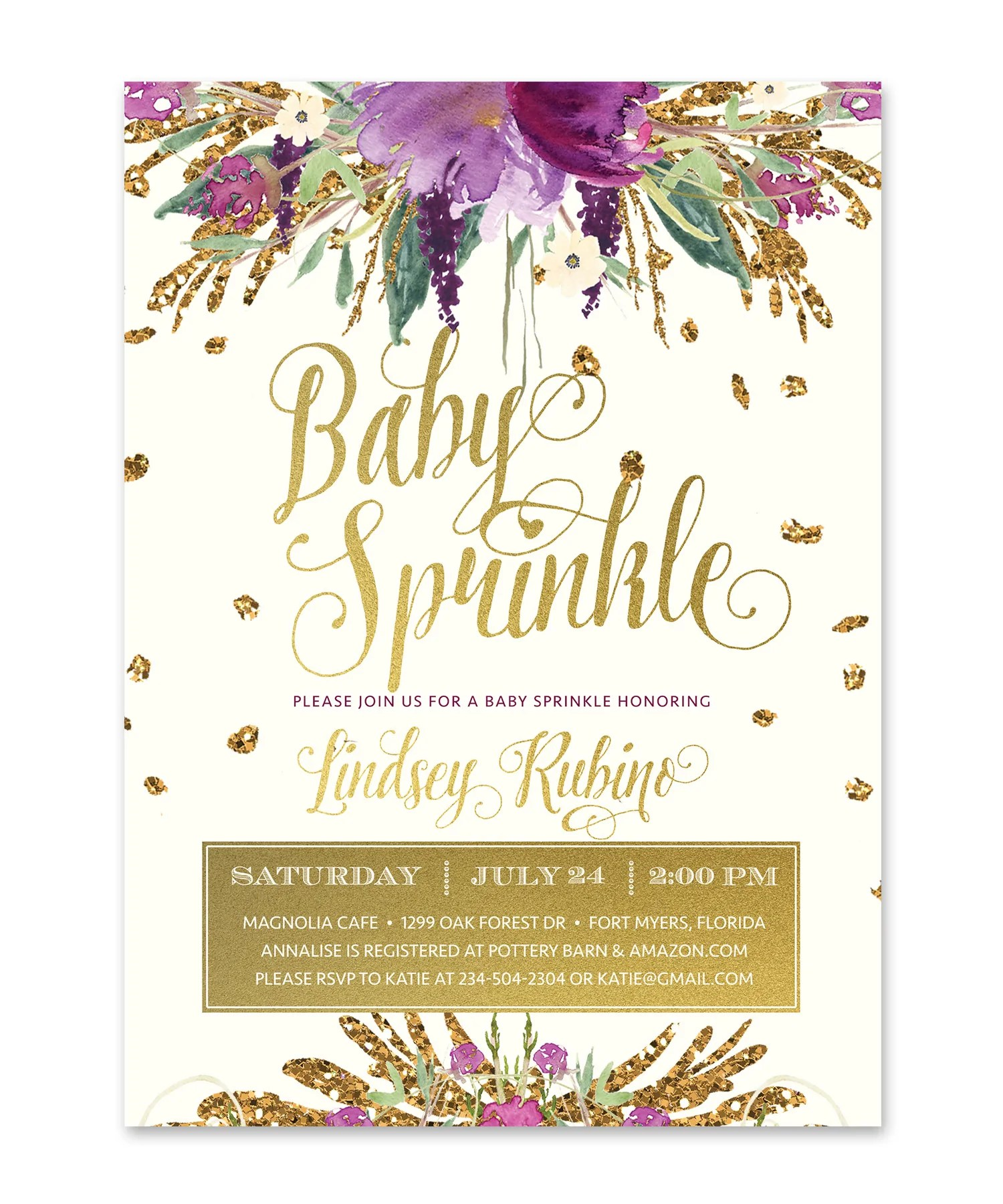 Compelling Baby Sprinkle Invitation Baby Sprinkle Purple Florals Baby Shower Baby Sprinkle Invitations Walmart Baby Sprinkle Invitations Boy wedding invitation Baby Sprinkle Invitations