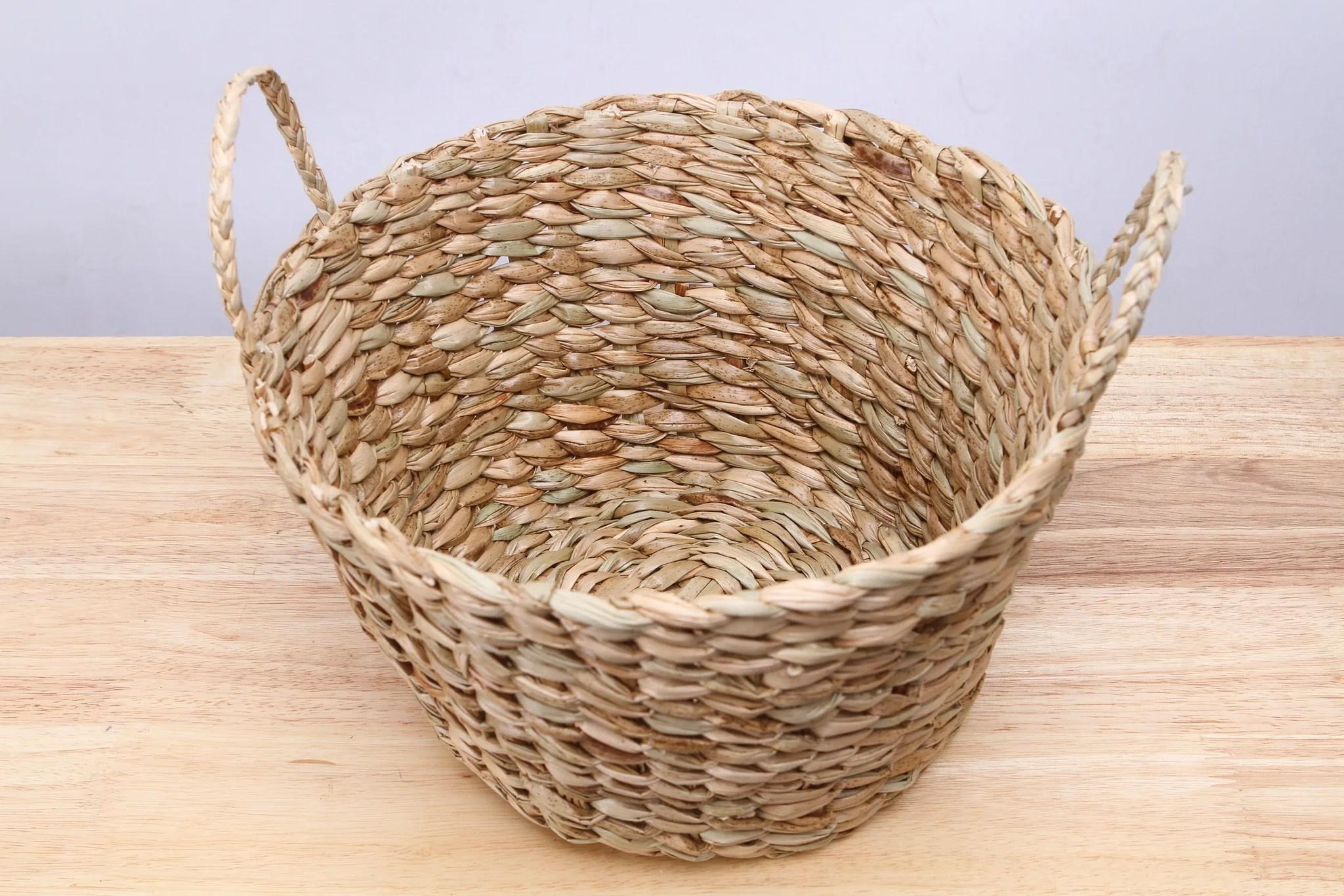 Sturdy Small Straw Wicker Basket Vtthai Small Wicker Baskets Ikea Small Wicker Baskets Lids baby Small Wicker Baskets