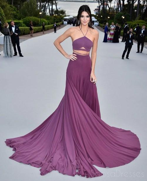 Medium Of Purple Prom Dress