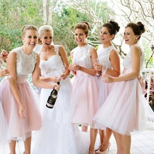 Medium Crop Of Short Bridesmaid Dresses