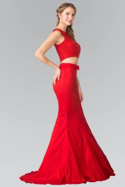 Small Of Red Prom Dress