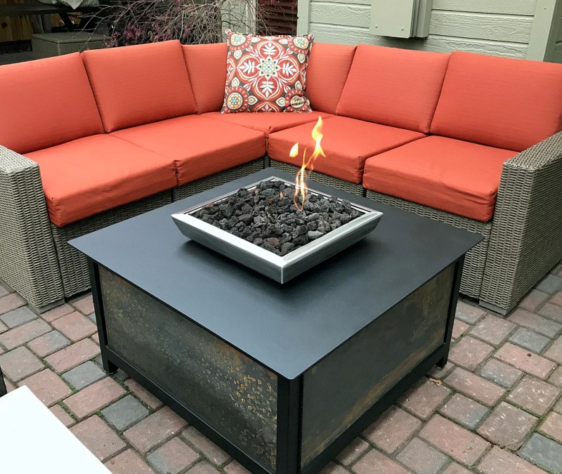 Large Of Gas Fire Table