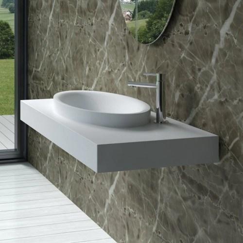 Medium Of Wall Mounted Sink