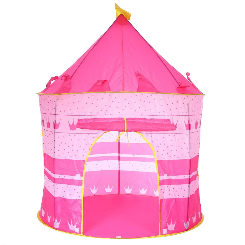 Cute Colors Portable Fable Play Tent Prince Fing Tent Kids Children Boycastle Cubby Play House Colors Portable Fable Play Tent Prince Fing Tent Kids baby Tents For Kids