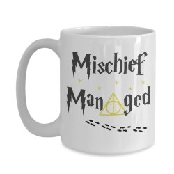 Small Crop Of Mischief Managed Mug