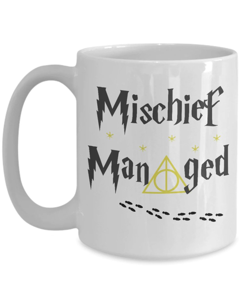 Large Of Mischief Managed Mug