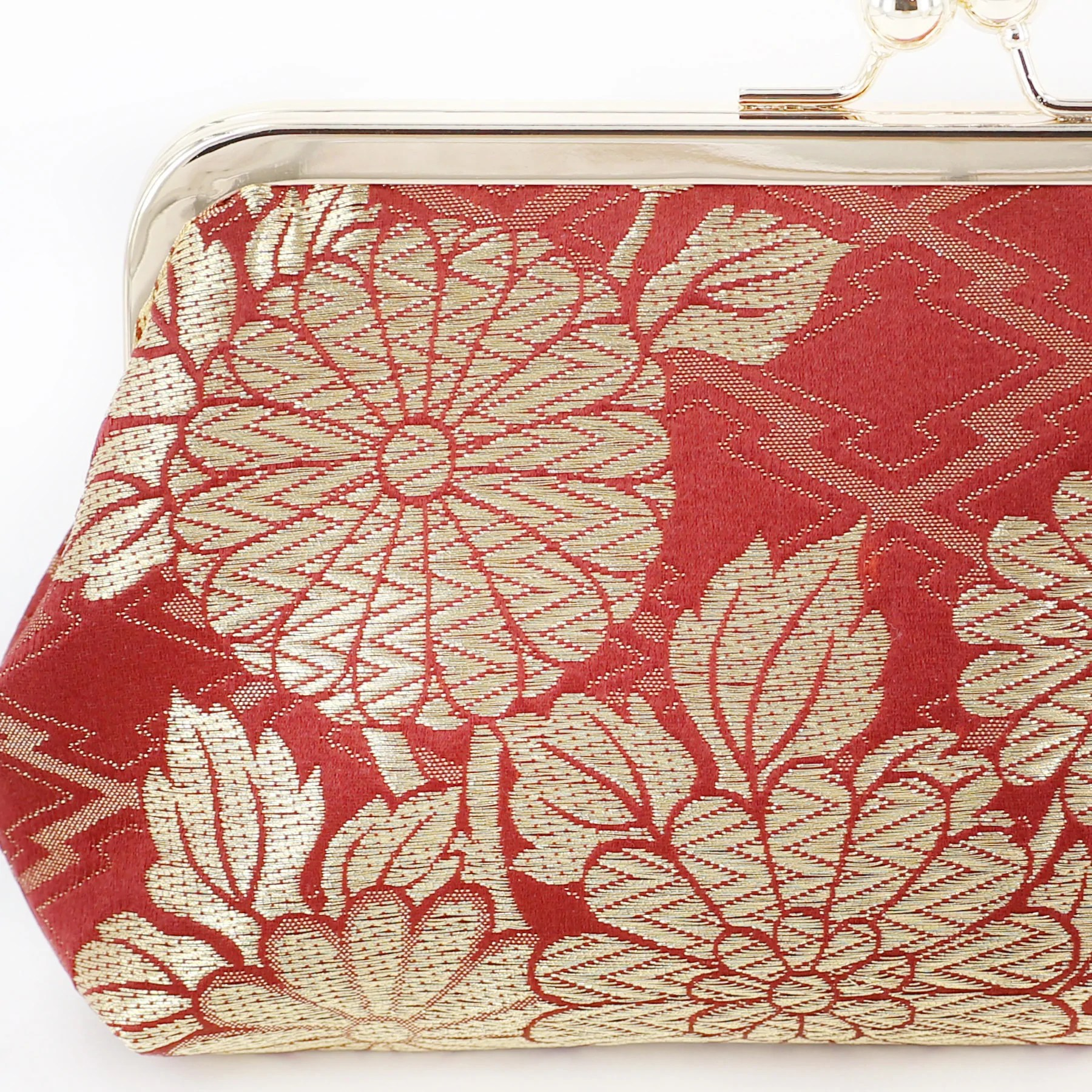 Upcycled From Chinese Kwa Embroidery Chrysanthemum and Peony On