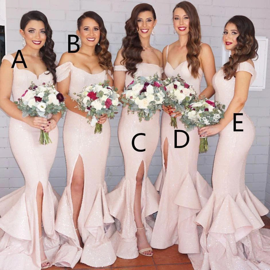 Fullsize Of Blush Pink Bridesmaid Dresses