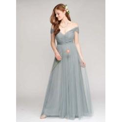 Small Crop Of Slate Blue Bridesmaid Dresses