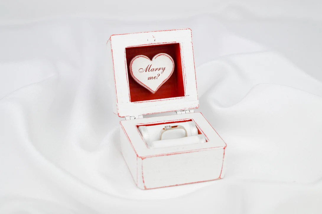Fullsize Of Engagement Ring Box
