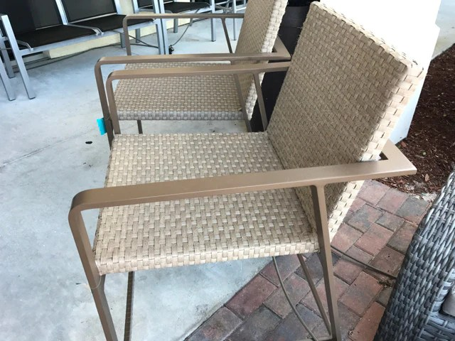 Pair Of Bar Height Stools Furniture Consignment Stores Naples Fl E24