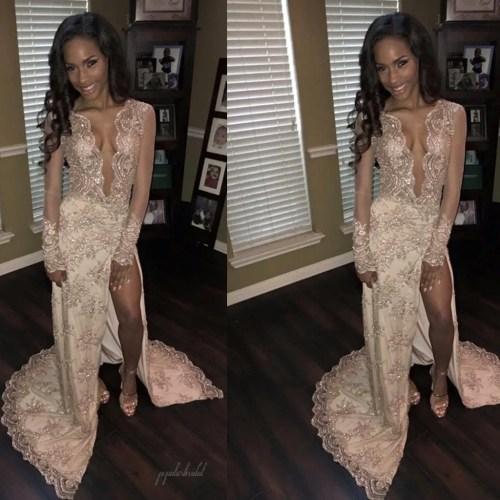 Medium Of See Through Dresses
