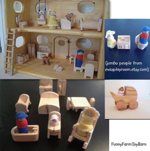 Medium Of Doll House Furniture