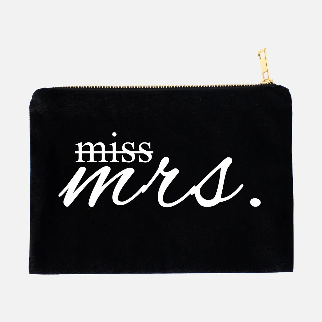 Excellent Miss To Canvas Makeup Bag Obsessorized From Miss To Canvas Makeup Bag Obsessorized Miss To Mrs Bag Miss To Mrs Purse inspiration Miss To Mrs