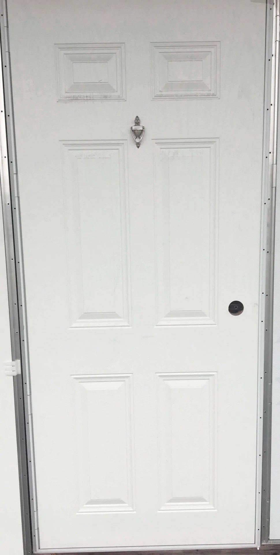 Inspiring Knocker Mobile Home Outswing Exterior Door Installation Light Cottage Outswing Exterior Door Viewer Elixir Exterior Outswing Panel Steel Door Elixir Six Panel Exterior Outswing Door houzz 01 Outswing Exterior Door