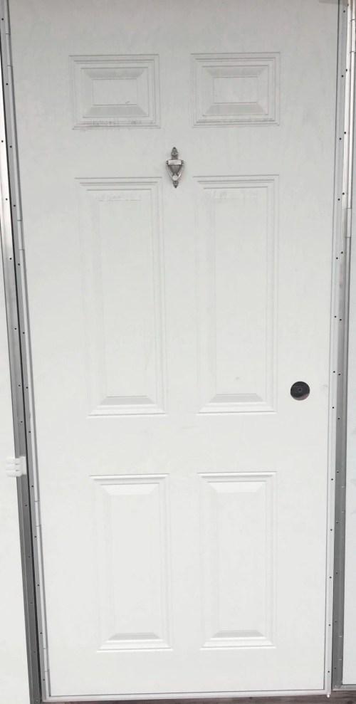 Medium Of Outswing Exterior Door