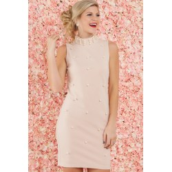Small Crop Of Blush Pink Dress