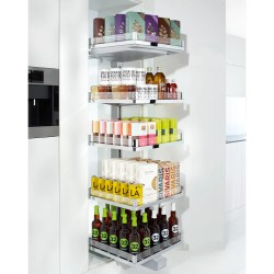 Small Of Pull Out Pantry
