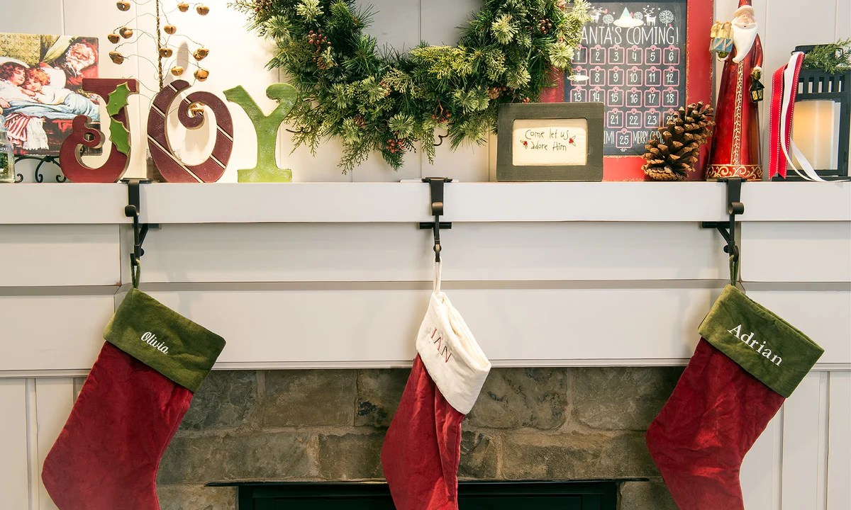 Neat Mantle Village Lighting Stocking Hers Mantle Pier One Mantle Village Lighting Company Garland Garland Stocking Hers Mantle Amazon Stocking Hers Stocking Hers baby Stocking Holders For Mantle
