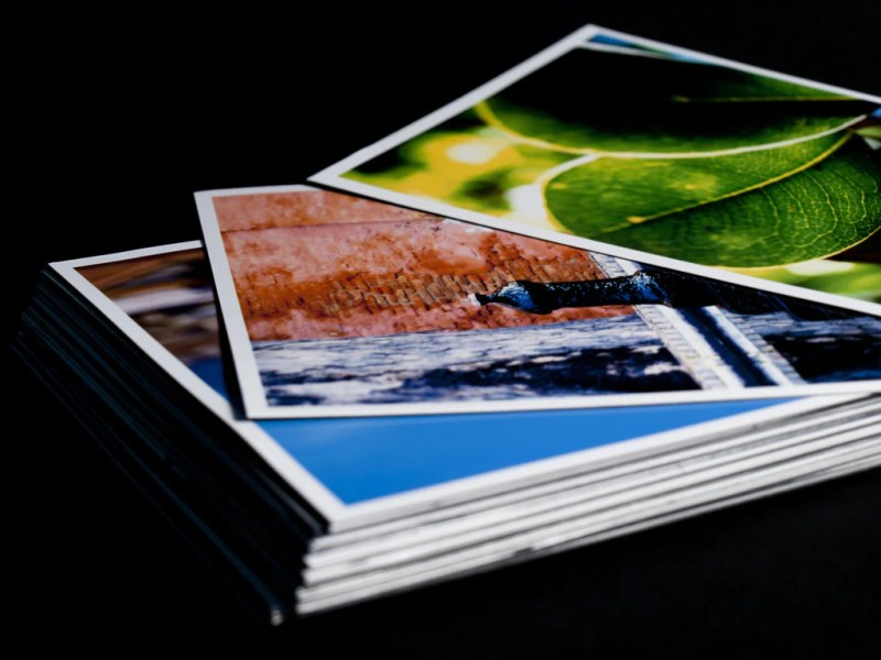 Large Of Print On Cardstock
