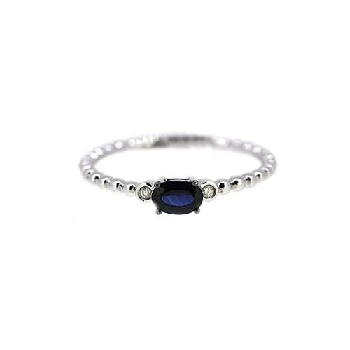 Medium Of Blue Sapphire Ring
