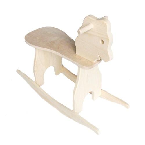 Medium Crop Of Wooden Rocking Horse