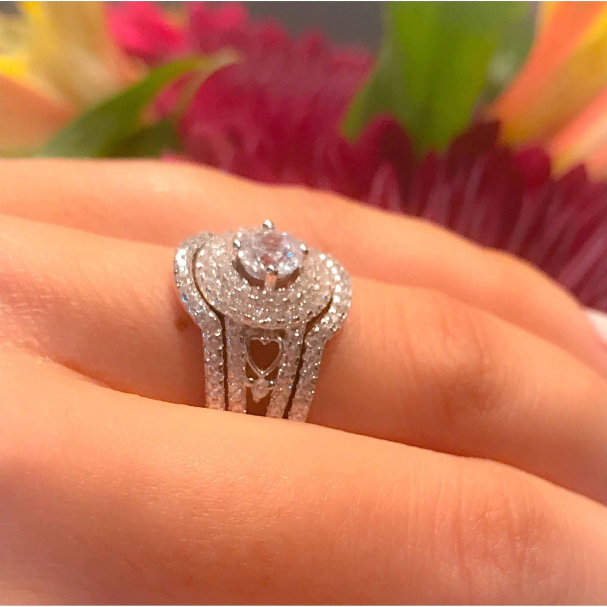 Smartly Diamond Engagement Wedding Hand Art Deco Diamond Engagement Wedding Hand Art Deco Ring Engagement Ring Hand Sanitizer Engagement Ring Handmade wedding rings Engagement Ring Hand