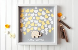 Sturdy Baby Shower Guestbook Alternative Elephant Baby Elephant Shower Guest Book Hearts Itzy Zazzy Baby Shower Guest Book Pages Baby Shower Guest Book Sign In