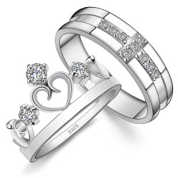 Small Of Couples Promise Rings