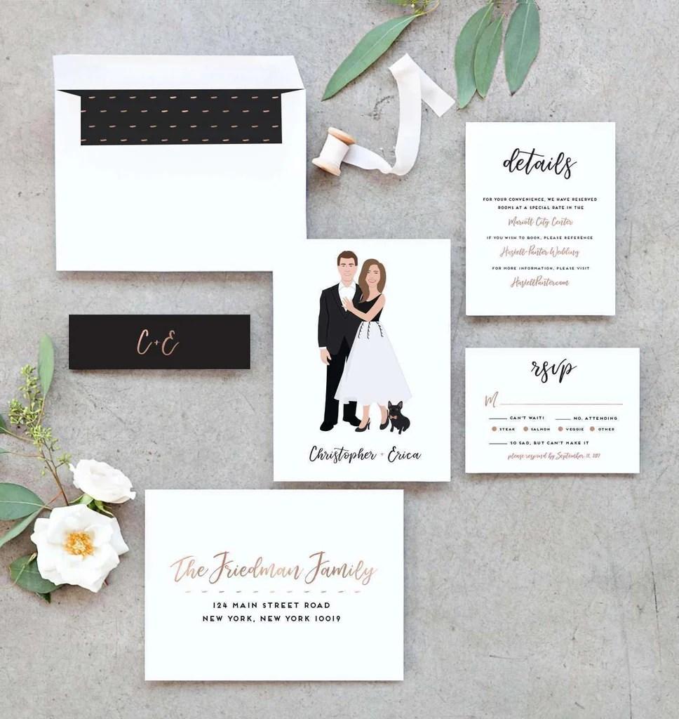 Fullsize Of Wedding Invitation Suite
