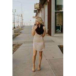 Small Crop Of High Slit Dress